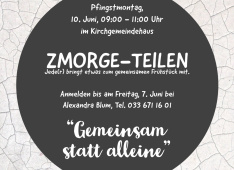 Zmorge teilen<div class='url' style='display:none;'>/</div><div class='dom' style='display:none;'>ref-frutigen.ch/</div><div class='aid' style='display:none;'>2</div><div class='bid' style='display:none;'>1769</div><div class='usr' style='display:none;'>4</div>